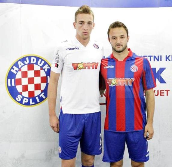 New Hajduk Split Jersey 2013