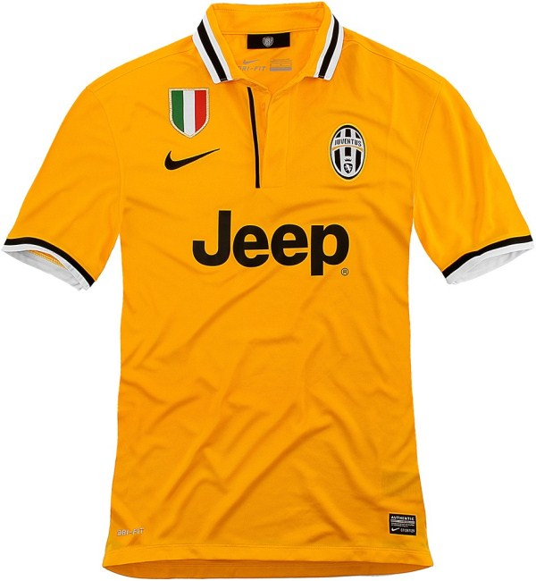 New Juventus Away Jersey 2014