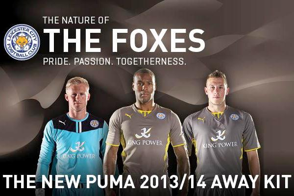 f993145f465 New Leicester Away Kit 2013-14 Grey Foxes Puma Shirt | Football Kit News