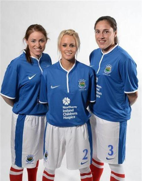 New Linfield Home Kit 2013