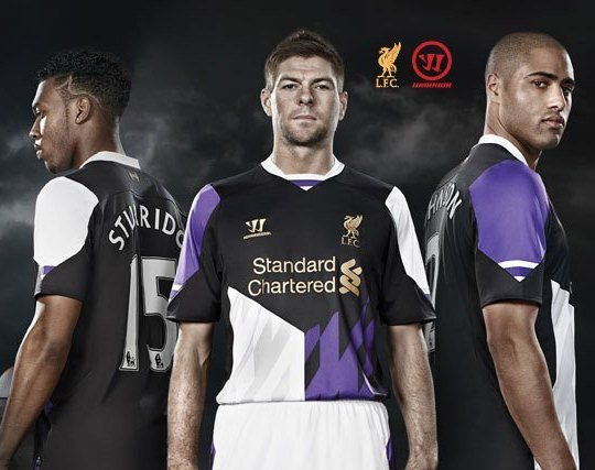 New Liverpool Third Kit 13 14