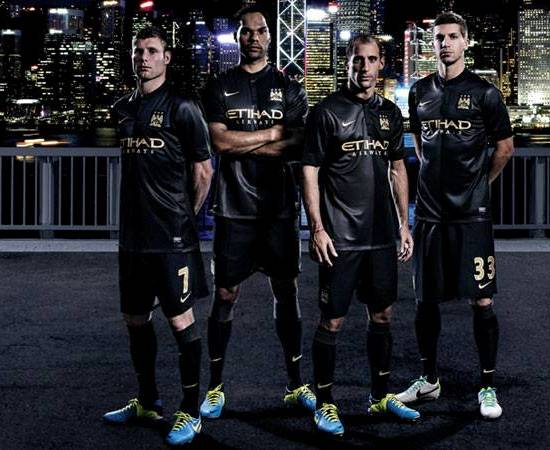 New Man City Away Kit 13 14