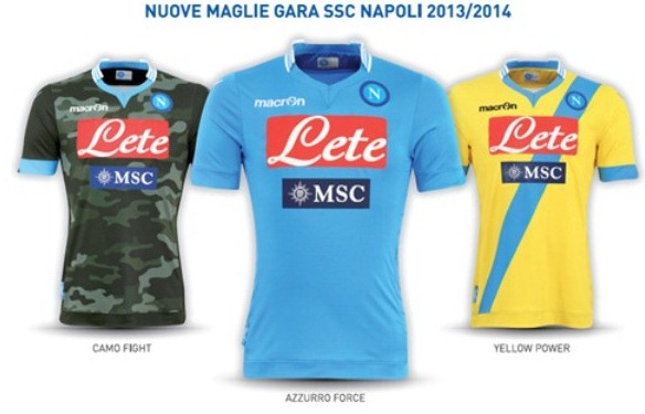 New Napoli Kit 2013 14