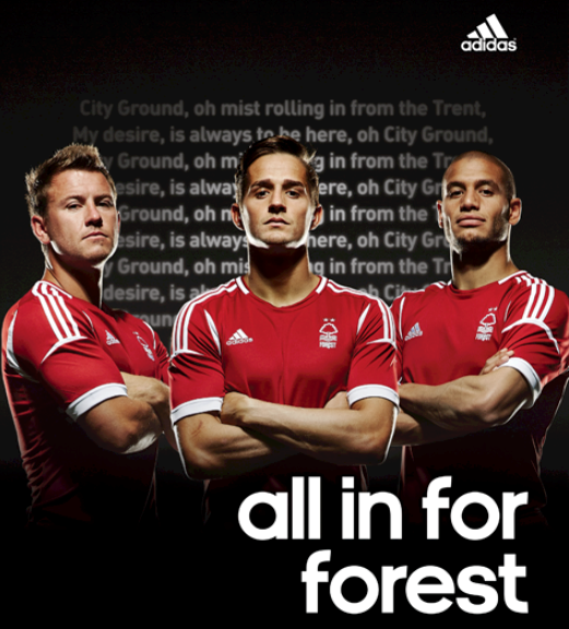 New Nottingham Forest Kit 13 14