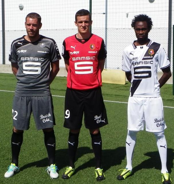 New Rennes Jersey 2013 2014