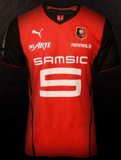New Rennes Kits 13 14