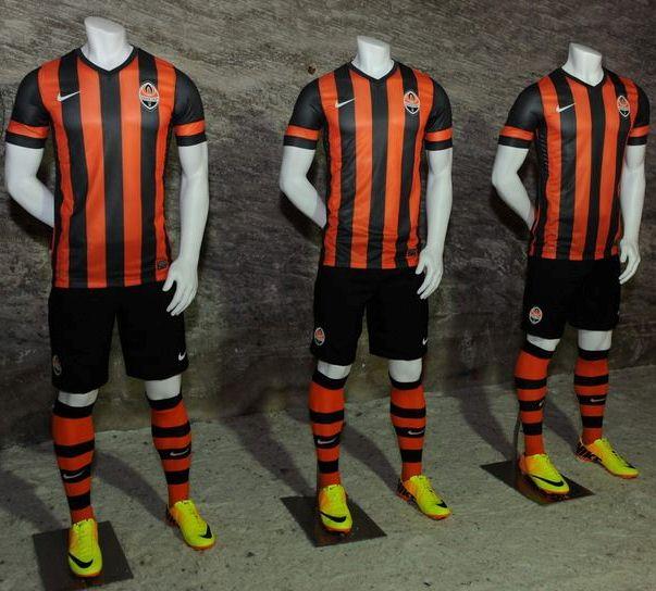 New Shakhtar Donetsk Kit 13 14