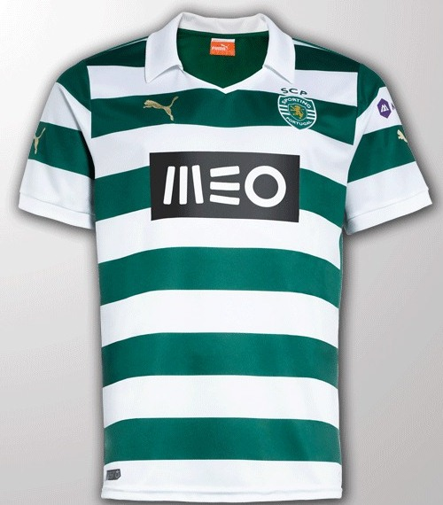 New Sporting Home Shirt 13 14