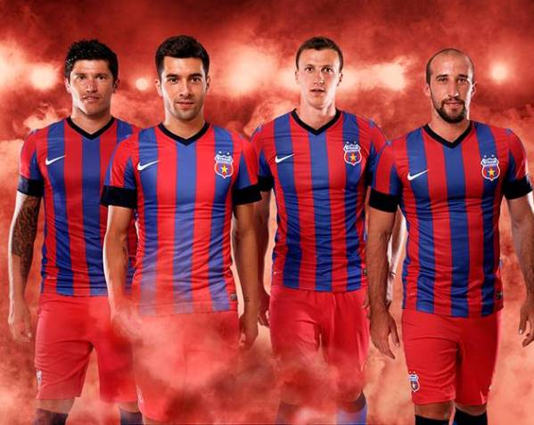 New Steaua Bucharest Kit 2013 14