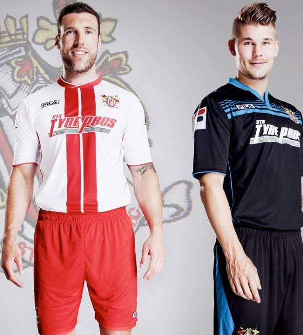 New Stevenage Kit 13 14