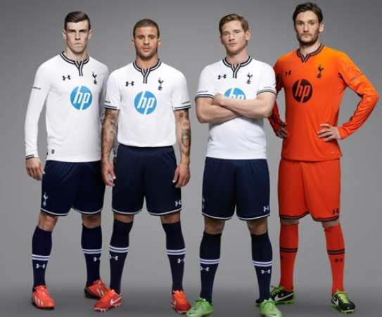 New Tottenham Kit 13 14