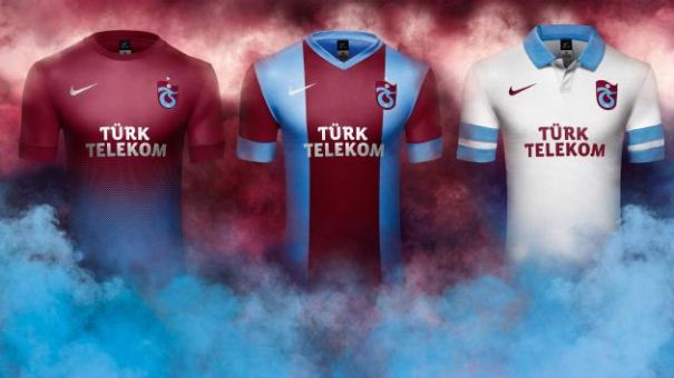 New Trabzonspor Jerseys 2013 14