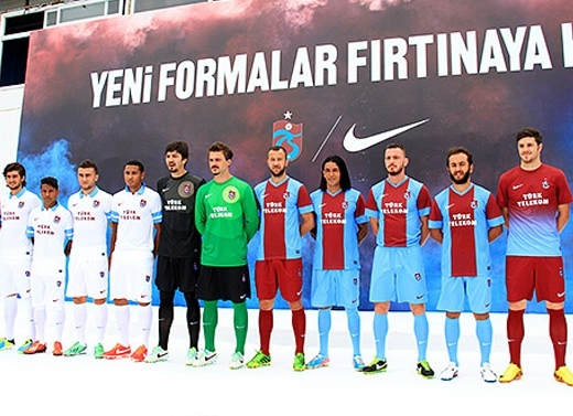 New Trabzonspor Kit 2013 14