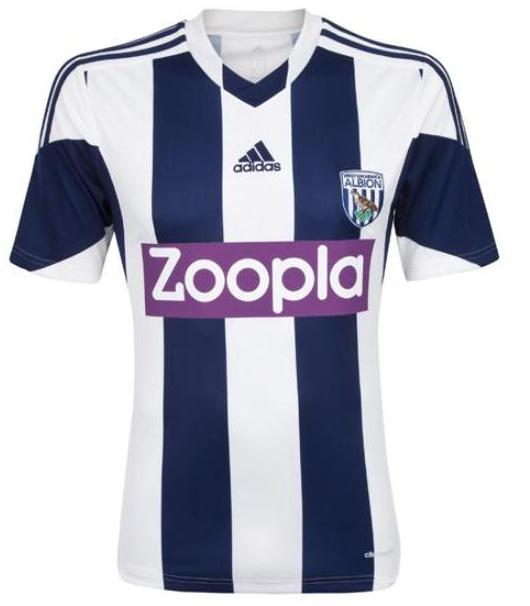 New WBA Home Kit 2013 14