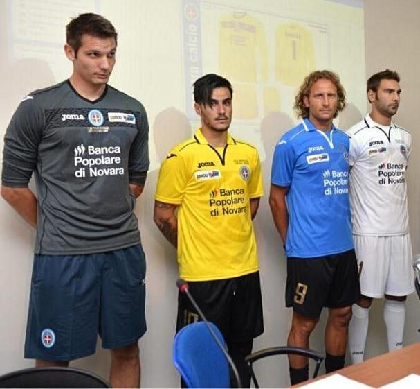 Novara Football Shirt 2013 14