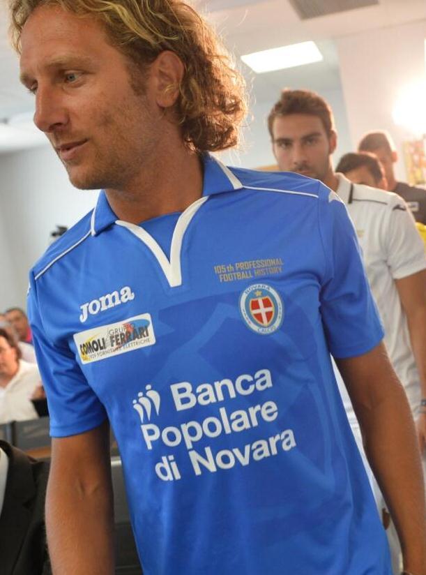 Novara Home Shirt 2013 2014