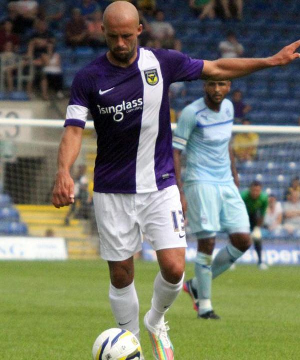 OUFC Purple Shirt 2013 14