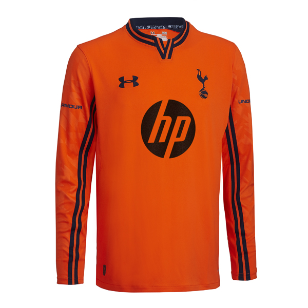 Orange Tottenham GK Shirt 2013 14