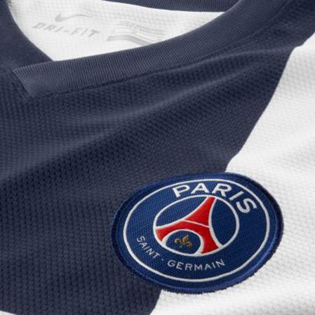 PSG Away Shirt Closeup