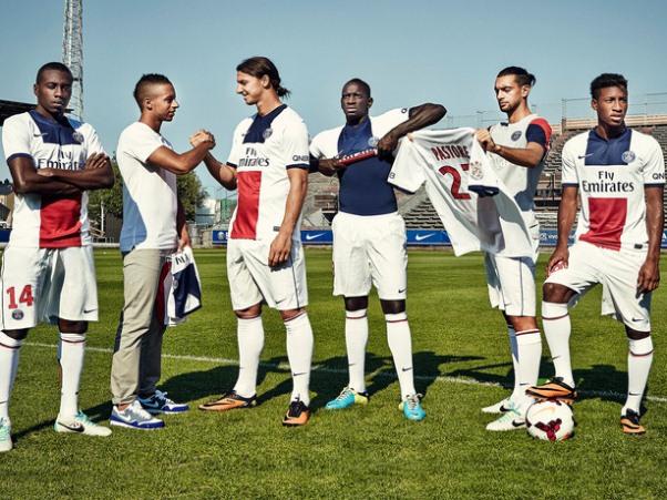 PSG Maillot Exterieur 2013 2014