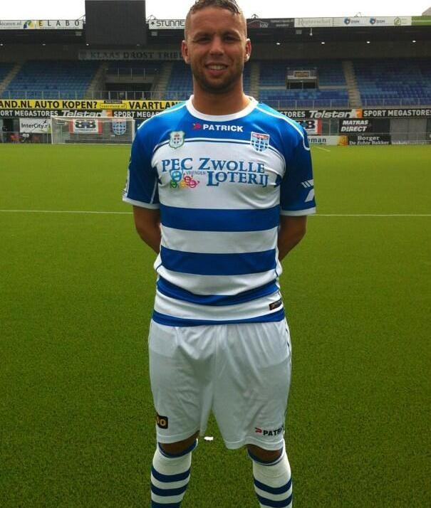 Patrick PEC Zwolle Home Shirt 2013 2014