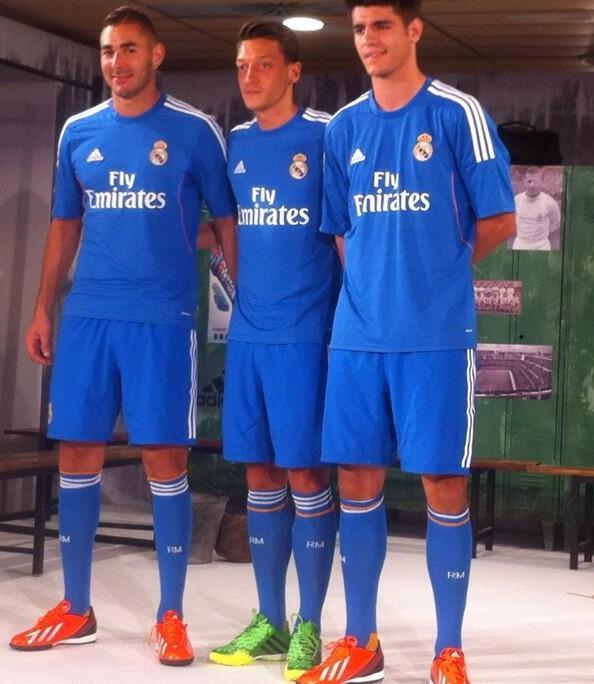 Real Madrid Away Top 2013 14