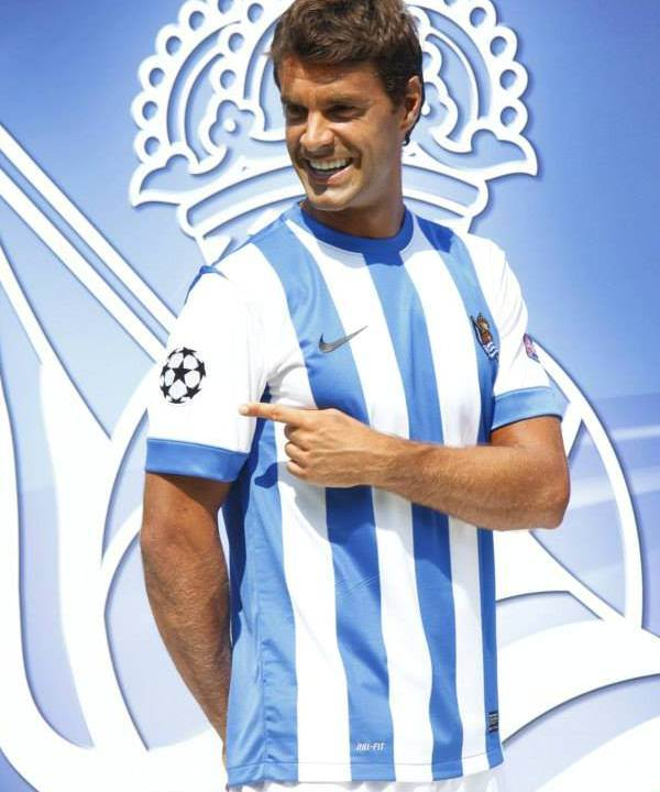 Real Sociedad Home Shirt 13 14