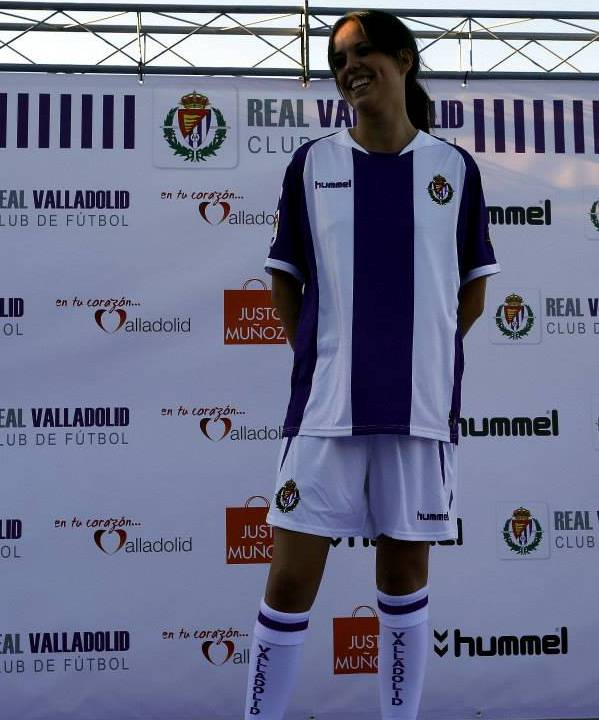 Real Valladolid Soccer Jersey 2014