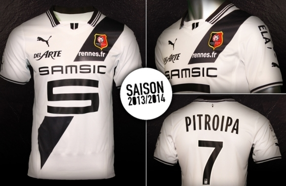 Rennes Away Shirt 2013 14