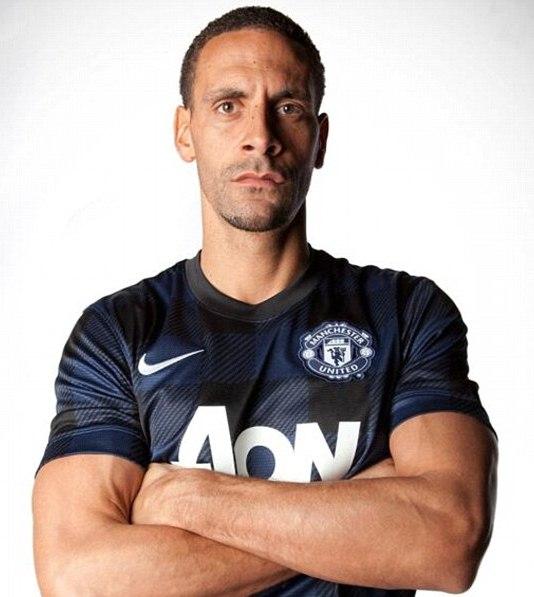 Rio Ferdinand Man Utd Kit 2013 2014