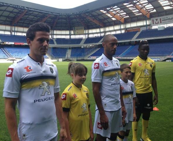 Sochaux Away Kit 2013 14