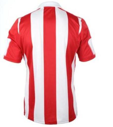 Stoke Home Kit Stripes on Back