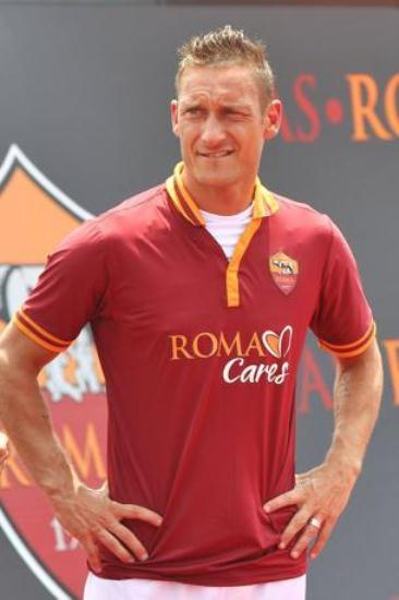 Totti Roma Jersey 2014