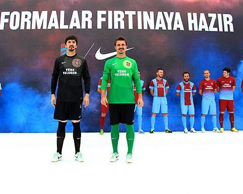 Trabzonspor Goalkeeper Jersey 2013 14