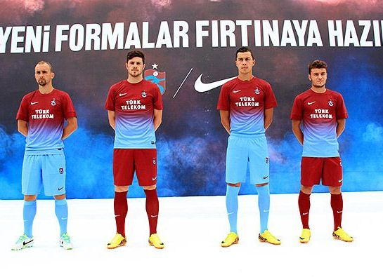 Trabzonspor Third Kit 13 14