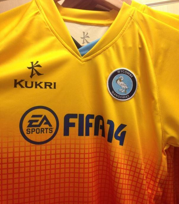 Wycombe Away Shirt 2013-14