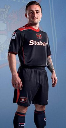 Carlisle United Away Shirt FILA