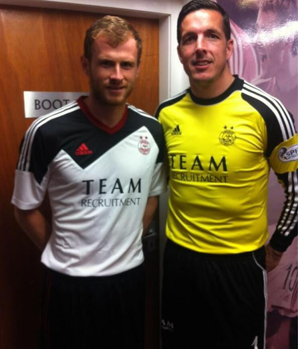New Aberdeen Away Top 2014