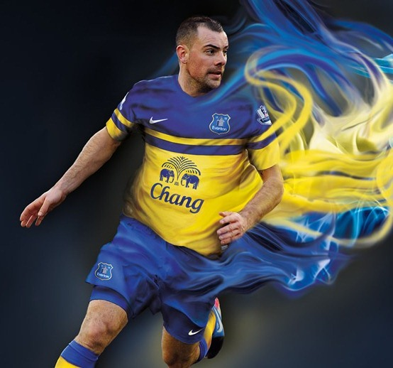 New Everton Away Kit 13 14