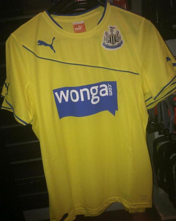 Newcastle Third Kit 2013 14