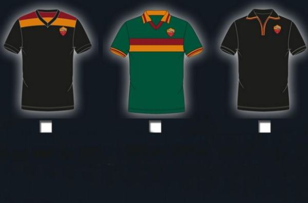 Roma Third Kit Vote 2013 14