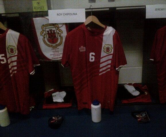 Admiral Gibraltar Football Shirt