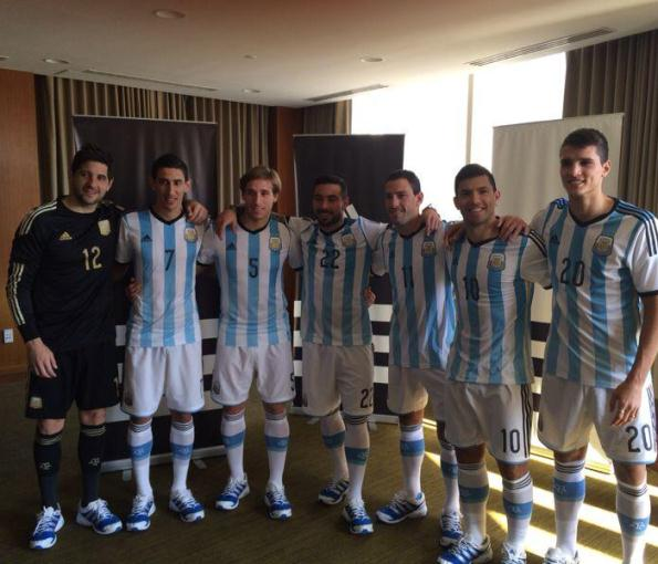 New Argentina World Cup Jersey 2014- Adidas Argentina 2014 Home Kit ... 9463840ca