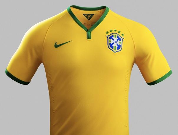 Brasil 2014 Soccer Jersey
