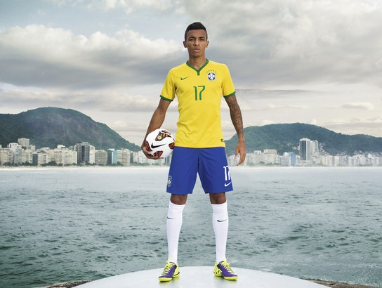 Brazil World Cup 2014 Shirt