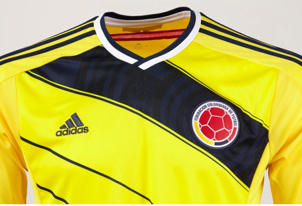 Colombia Home Kit 2014 15
