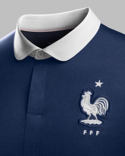 France Soccer Jersey Badge 2014