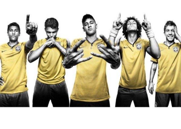 New Brazil 2014 Football Kit