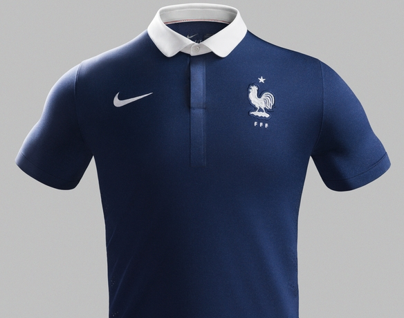 new style 07e26 27c75 New France World Cup 2014 Kit- Nike French Home Jersey 2014 ...