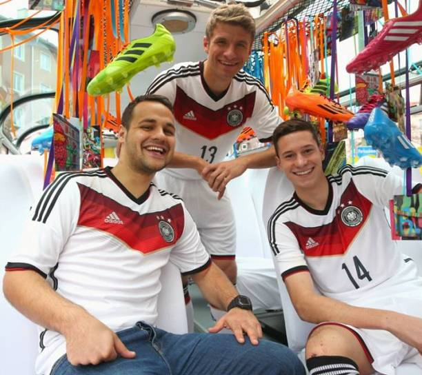 New Germany 2014 WC Jersey